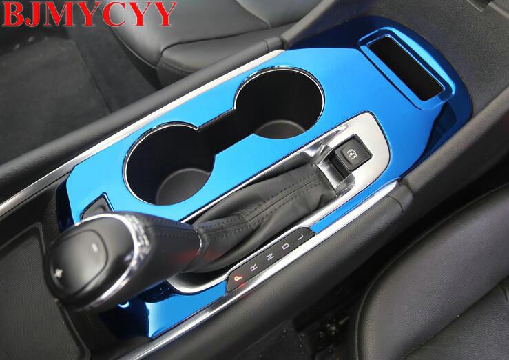 BJMYCYY Cup Gear amélioré voiture style couvre protection décoration brillant paillettes autocollant bande pour Chevrolet Malibu XL 2016 2017