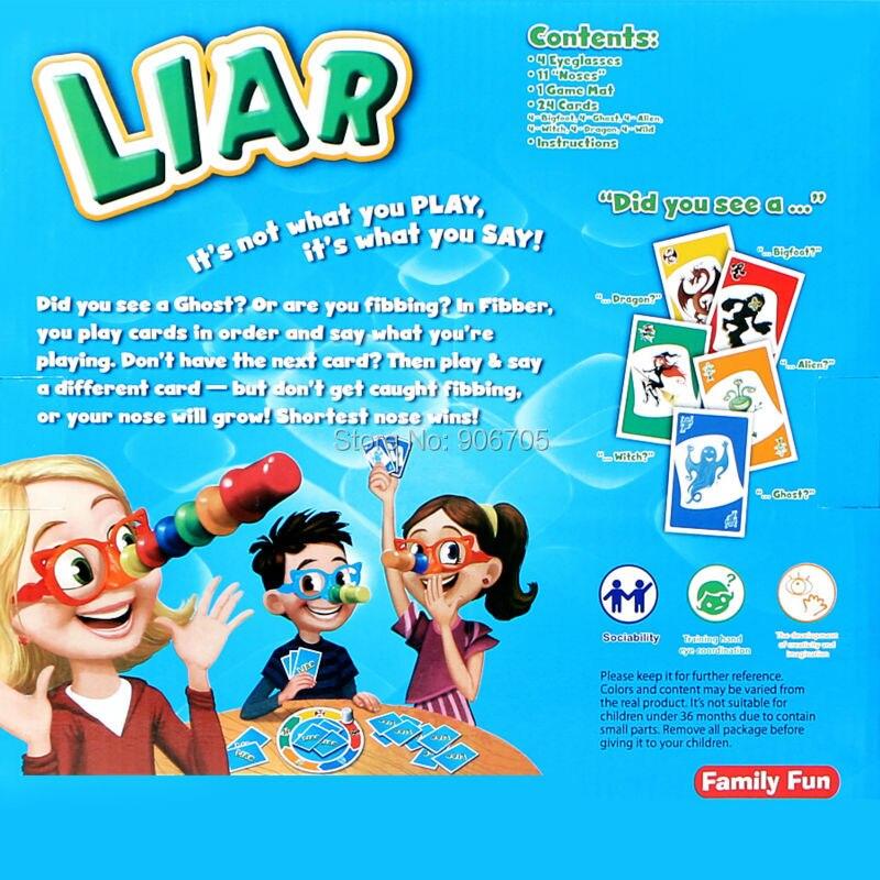 Aliexpress Buy Liar Fibber Game Set Hilarious Noses Glasses