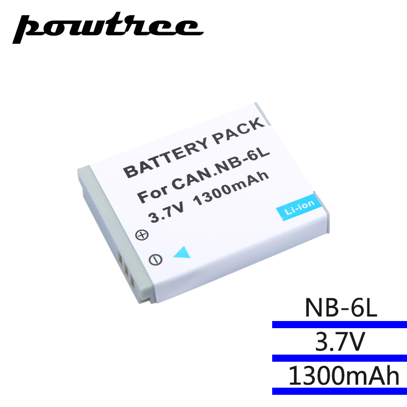 NB-6LH NB6L NB-6L Digital Battery for Canon Power-shot Camera HS SX520 SX530 SX540 SX600 SX610 SX700 SX710 IXUS 95 200 210 105