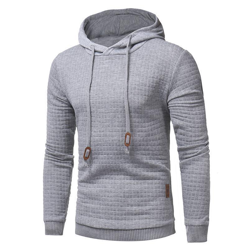 2018 New Brand Sweatshirt autumn Solid Hoodie Mens Hip Hop