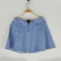 Lady Jeans Denim Mini Skirt 2017 Short Summer NEW Arrival Women Denim Shirt