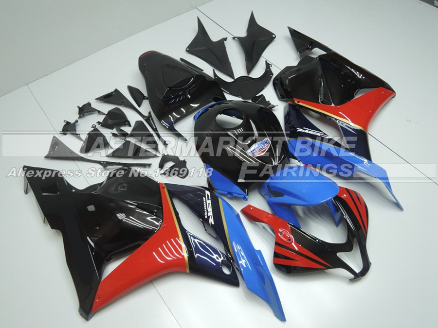 Honda-TT-Legends-Team-2009-2012-Honda-CBR600RR-Motorcycle-Metallic-Fairing-Kit-22