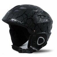 New Ski Helmet CE Certification Safety Skiing Helmet Integrally Molded Sking Snowboard Skateboard Helmet