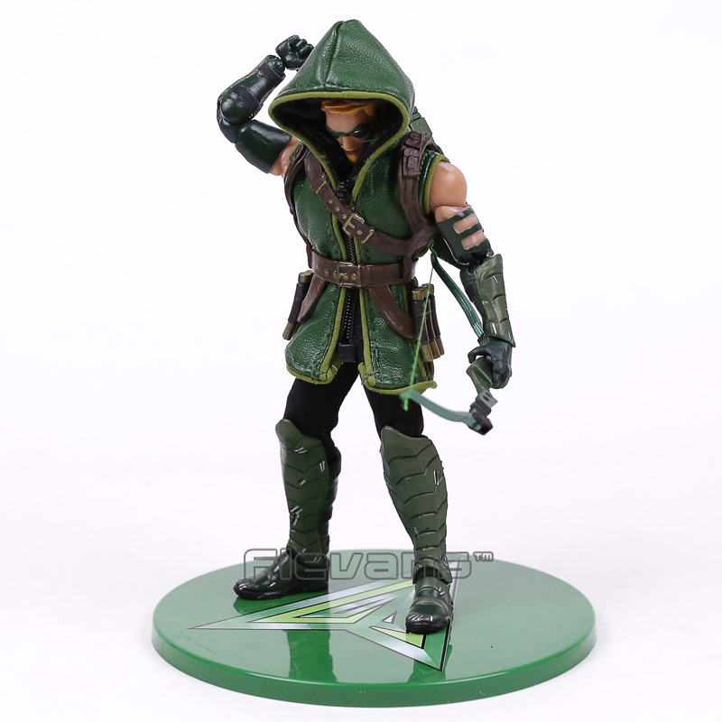 MEZCO DC COMICS Green Arrow One:12 Collective Figure Model Toy (with real clothing) 16cm green arrow vol 3 emerald outlaw rebirth