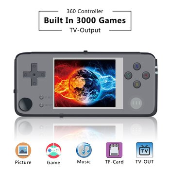 Retro Game plus Portable Handheld Retro Game Console Game Player built in 3000 games 64 bits