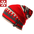 CaiZhongHai / B14 Waves Stripes Winter Hats For Women & Men Knitted Beanie Caps Fashion Warm Hip Hop Ski Skull Beanies Girls