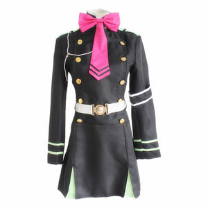 Image 2 - Japanese Anime Owari no Seraph Seraph of the end Cosplay Costume Hiragi Shinoa Uniform Halloween party cosplay costume