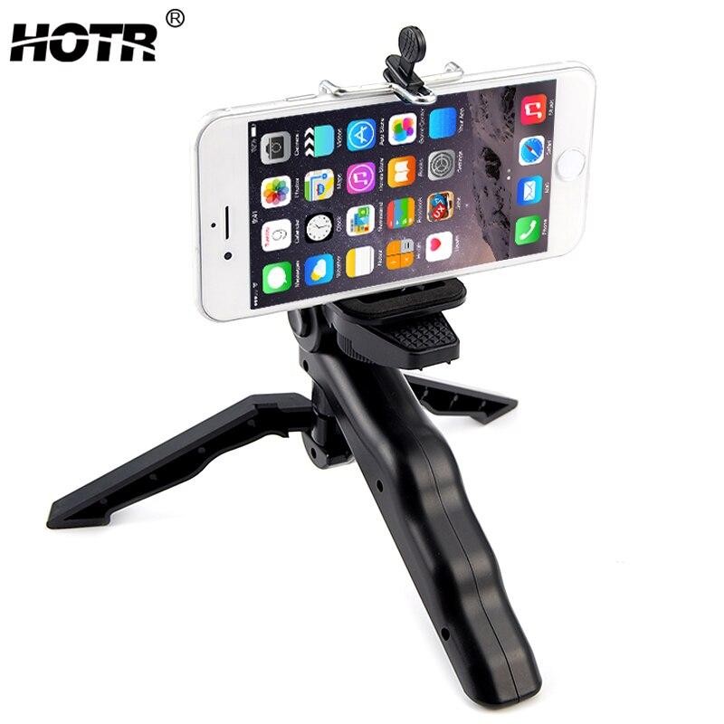 HOTR Selfie Штатив Держатель 3 ноги стабильной штатив подставка держатель крепление Дисплей Поворотный и складной штатив держатель Универсальн...