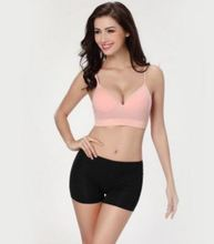 YG577 Japanese style non-trace gathering yoga sports bra No rims together one piece plate cup nursing bra underwear