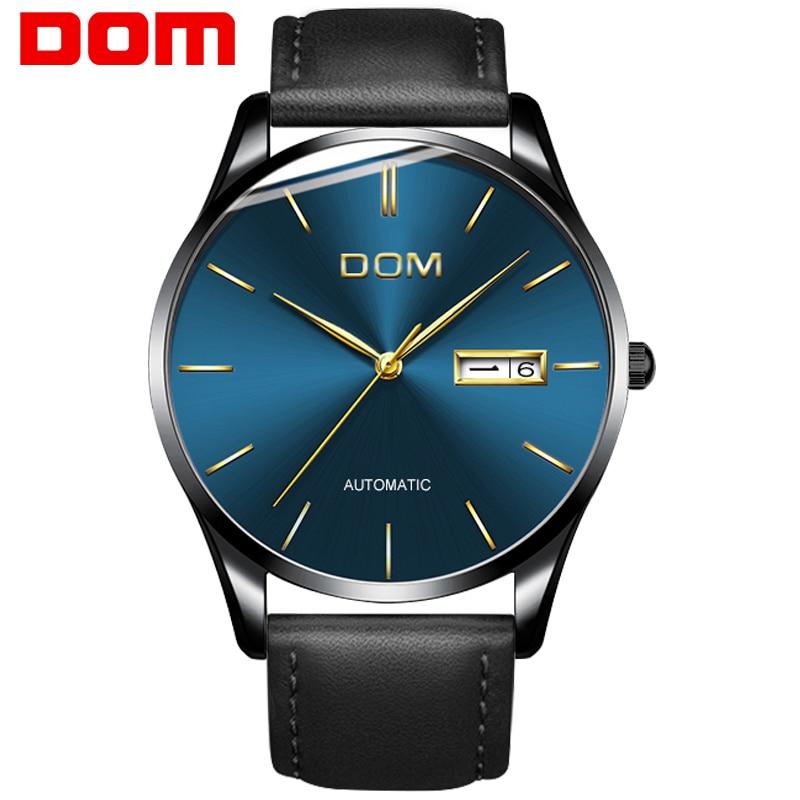 9db03a74b Pánské hodinky DOM Nový Nové Luxusní značky Značka sportovní hodinky ...