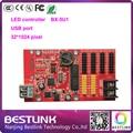 LED USB порт светодиодный контроллер карты Onbon BX-5U1 32*1024 пикселей одного цвета привело плату управления светодиодная вывеска открытый экран