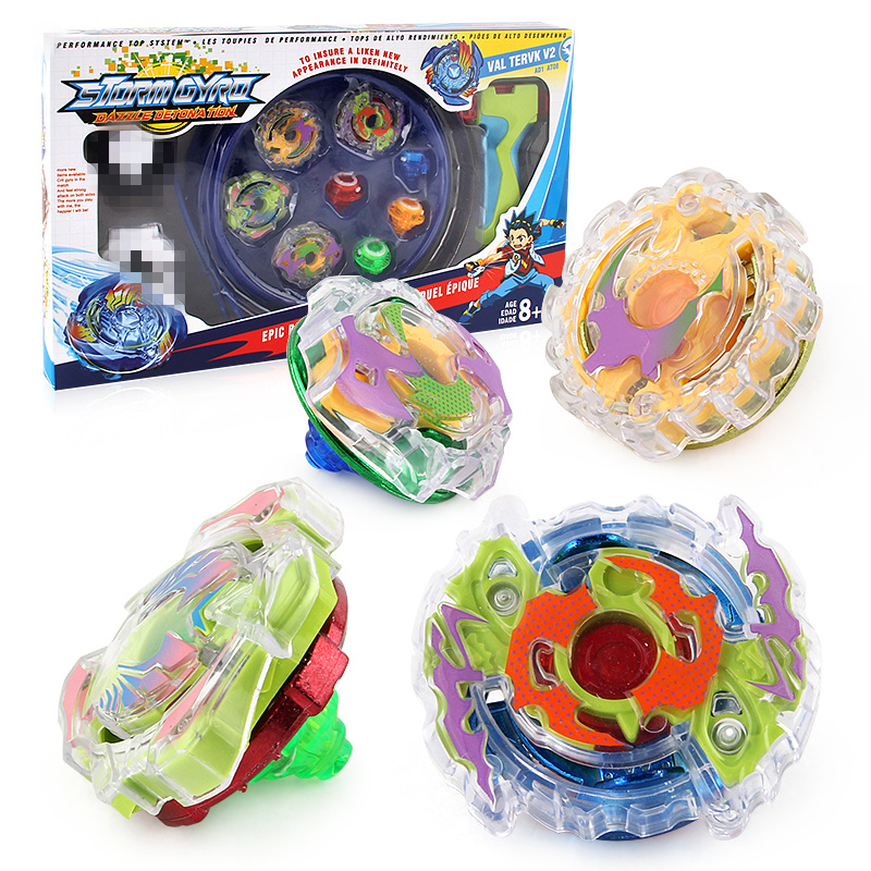 Beyblade Arena 4pcs/set Beyblade Burst Spinning Top Metal Fight Beyblad Beyblade Metal Fusion Children Gifts Classic Toys LSD18A