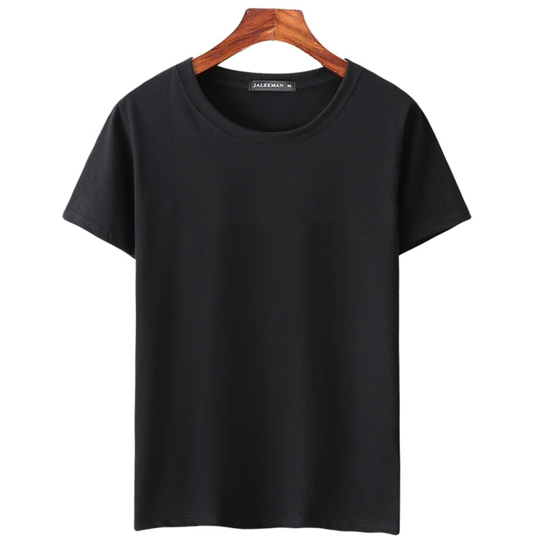 6pcs Lot T Shirts Men Women Cotton Summer Short Sleeve Solid Male Female Fitted Tshirts Top Tees O-Neck Plus Size Tee shirt MuLS 10