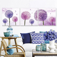 3D Diamond Cross Stitch 5D DIY Diamond Painting Dandelion Pattern Embroidery Diamond Inlaid Arts And Crafts