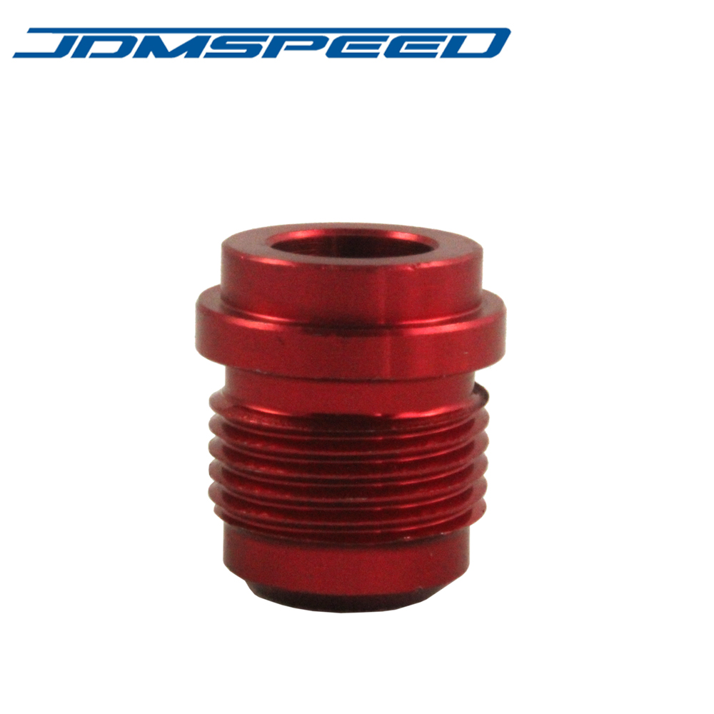 New JDMSPEED Red AN10 AN 10 # 10 Male Billet Adapter Aluminum Weld On Bung Fitting