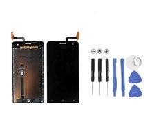 100% Nouveau Pour Asus Zenfone 5 Zenfone5 A500cg 1280X720 LCD Display + Écran Tactile Digitizer Assemblée Verre Livraison Gratuite
