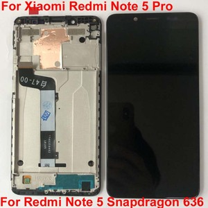 Image 4 - Original Best Tested AAA 5.99For Xiaomi Redmi Note 5 Pro MEG7S LCD Display 10 Point Touch Screen Digitizer Assembly with Frame