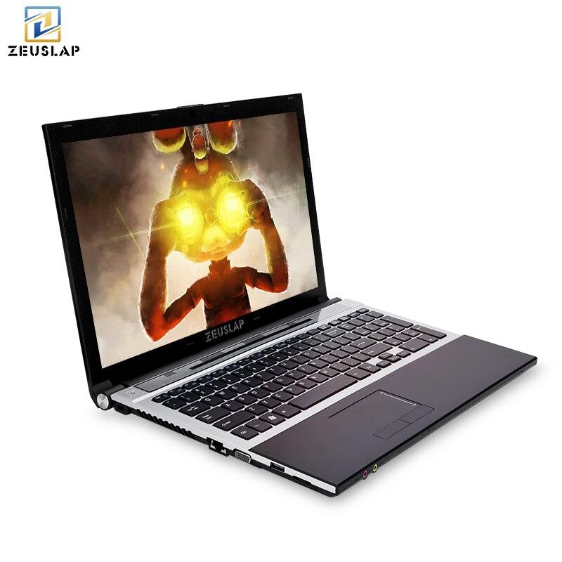 ZEUSLAP 15.6 pouces intel i7 8 gb ram 128 gb 256 gb 512 gb ssd 1920x1080 full hd écran Windows 10 système Ordinateur Portable PC Portable Ordinateur