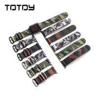 Camouflage Sport Style Watchband 38MM 42MM For Apple Watch Watchbands Men Nylon Strap Fast Delivery
