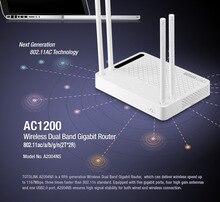 TOTOLINK AC1200 Dual Band Gigabit Беспроводной Маршрутизатор, Точка доступа (AP), Беспроводной Повторитель, Wi-Fi Ретранслятор A3002RU два комплекта