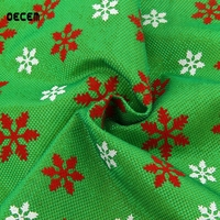 OECEM 100x50cm 2017 New Christmas Pattern DIY Sewing Patchwork Cloth Home Quilting Tissue Decoration Party Decoration