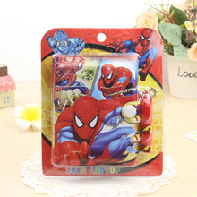 1 Set Cartoon Mini Super Hero Spiderman Notebook with Ballpoint Pen Set Notepad Diary Book School Office Stationery Supply(China)