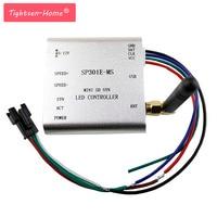 SP301E MS Programmable RF Synchronous controller APA102,SK6812,WS2812B,WS2811,SK9822 LED 2048 Pixels Program Controller DC5~12V
