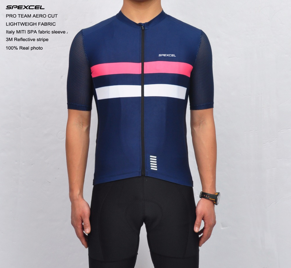 2017 SPEXCEL NEW TOP QUALITY PRO TEAM AERO CYCLING JERSEY SHORT SLEEVE COOL RIDE CYCLING GEAR RACE CUT SHIRT FREE SHIPPING wear better top quality pro team aero cycling jerseys short sleeve bicycle gear race fit cut fast speed road bicycle top jersey