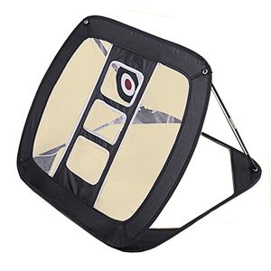 Image 1 - 2019 nouveau Golf Pop UP intérieur extérieur déchiquetage tangage Cages tapis pratique facile filet Golf entraînement aides métal + filet
