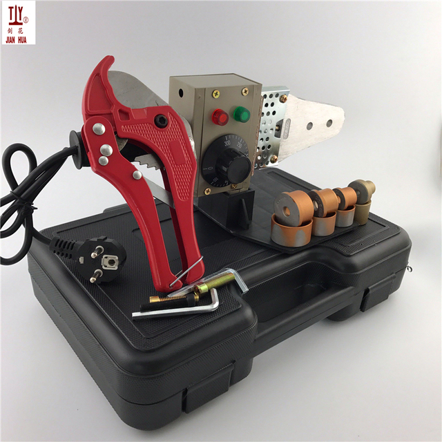 1 Set Plumbing Tools 220V 600W Temperature Controled Ppr Welding Machine Plastic Tube Wlelder Pipe Welding Machines