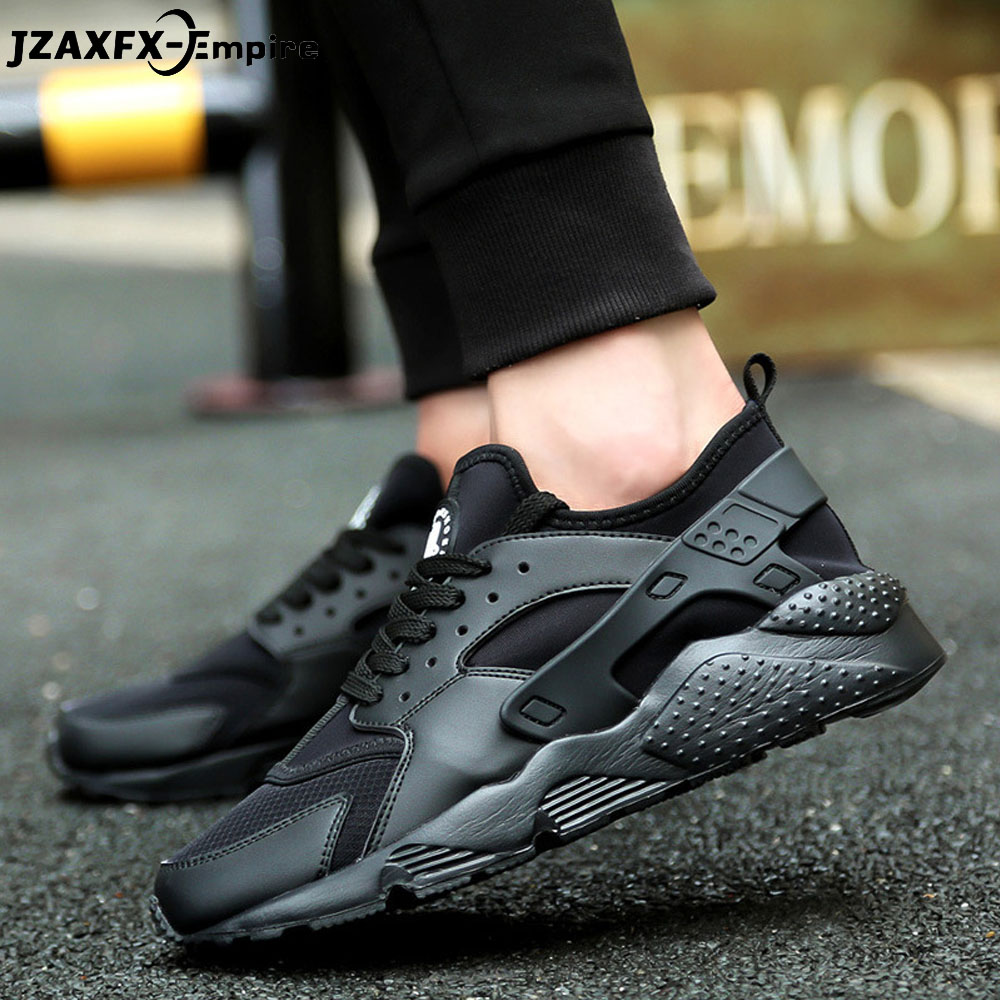 2018 New Solid Color Men Casual Shoes Top Quality Comfort Soft Walking Driving Shoes Men tenis masculino adulto