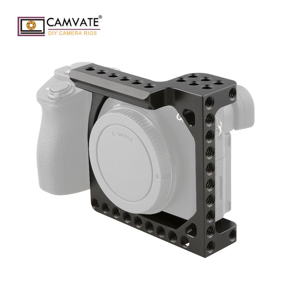 CAMVATE กล้องกรอบสำหรับ A6000/A6300/A6400/A6500 & EOS M/M10 C1850 กล้องถ่ายภาพอุปกรณ์เสริม-ใน อุปกรณ์เสริมสำหรับสตูดิโอถ่ายภาพ จาก อุปกรณ์อิเล็กทรอนิกส์ บน AliExpress - 11.11_สิบเอ็ด สิบเอ็ดวันคนโสด 2