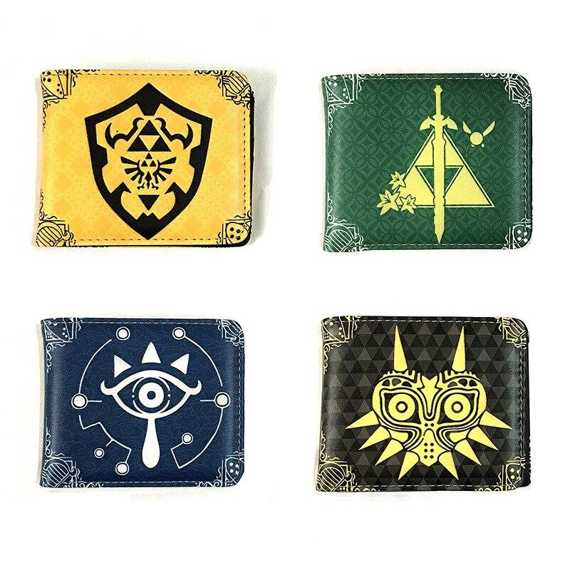 PU Wallet Legend Purses Card Coin-Pocket Soft-Money-Bag Zipper Anime Unisex 1PCS Cool