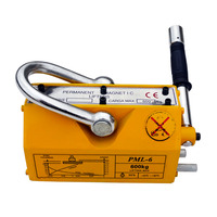 ECO SOURCES High Quality 600 KG Steel Magnetic Lifter Heavy Duty Crane Hoist Lifting Magnet 1320lb