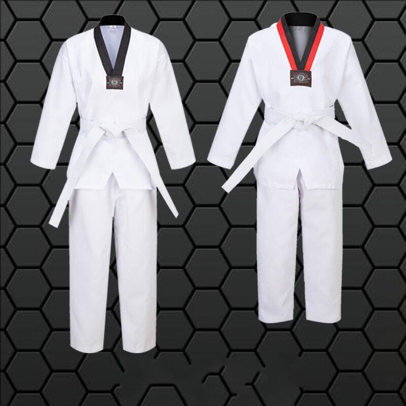 NEW Karate Taekwondo SHORTS SHORTCUT PANTS Martial Arts Uniform White//Black//Blue