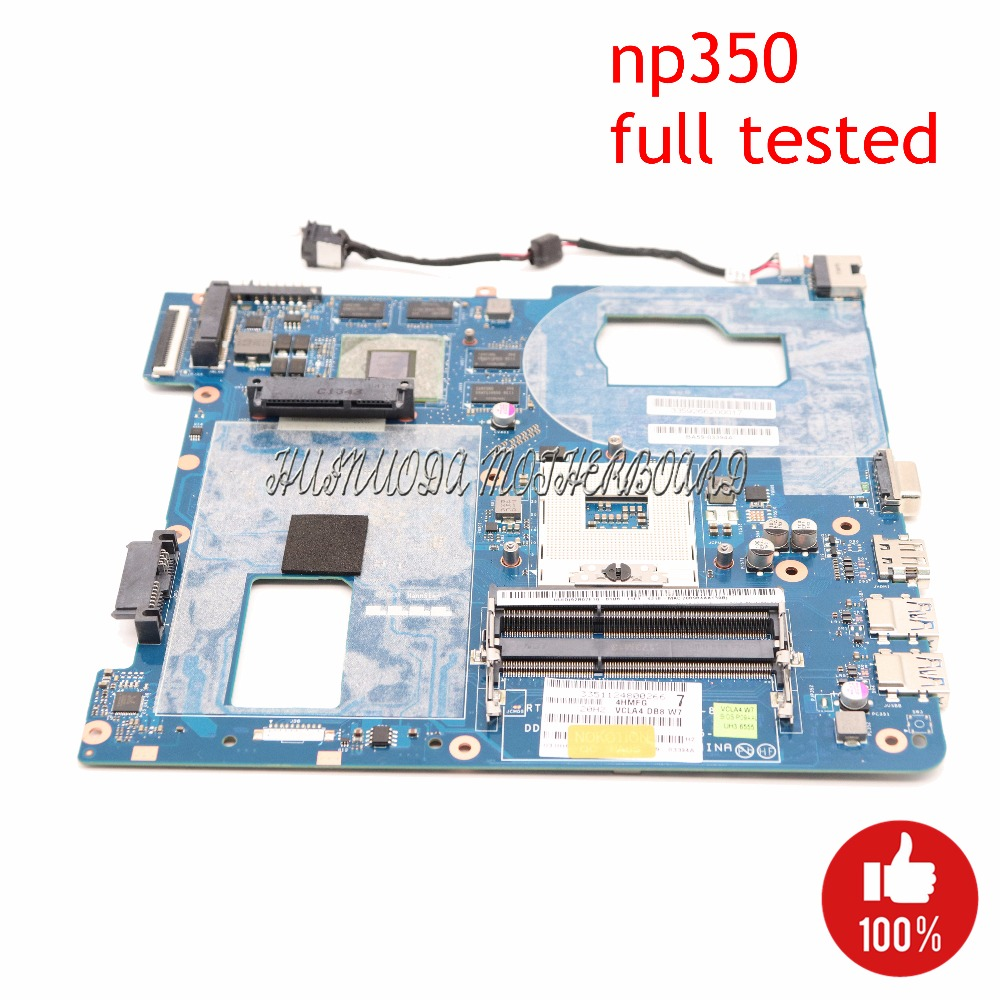 NOKOTION QCLA4 LA-8861P BA59-03397A For Samsung NP350 NP350V5C 350V5X Laptop Motherboard HD4000 HD7670M Main Board Full Tested