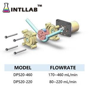 Image 5 - INTLLAB DIY Peristaltic Pump Dosing Pump 12V DC, High Flowrate for Aquarium Lab Analytical