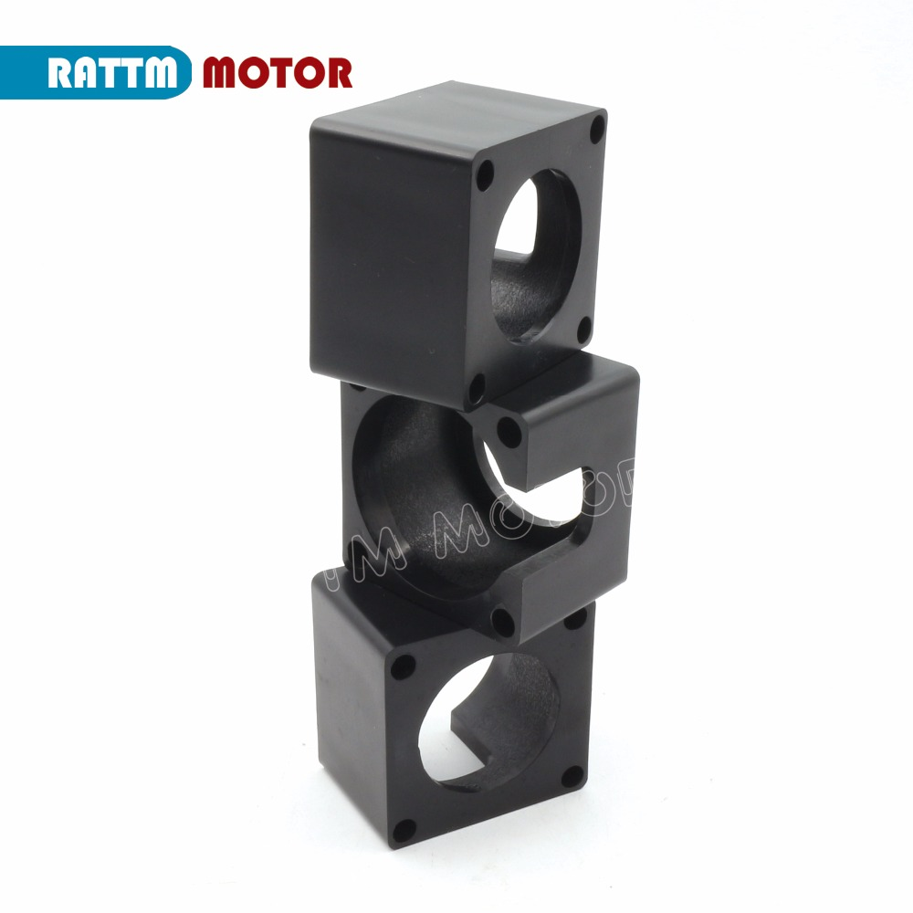 3PCS <font><b>Nema</b></font> <font><b>23</b></font> Motor mounts Material plastic 57 stepper motor <font><b>bracket</b></font> motor mounts <font><b>bracket</b></font> DIY engraving machine parts image