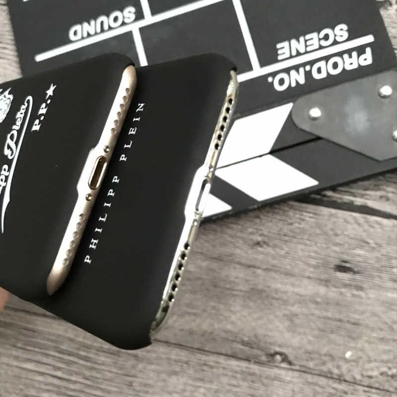 045ed1501b1 ... New PHILIPP PLEIN Matte hard plastic cover case for iphone 5 5S SE 6 6S  S