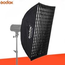 Godox FW90 * 90 90×90 см соты софтбокс с решеткой софтбокс с Bowens крепление для студии стробоскоп вспышки света