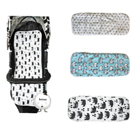 Hot Sale Cotton Baby Stroller Cushion Seat Pad Infant Prin Diaper Pad Changing Mat Seat Pad