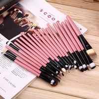 20Pcs Professional Make-Up Pinsel Pack Komplette Make-up Lip Liner Foundation Concealer Make-Up Pinsel Werkzeuge Ätherisches Sets