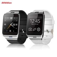 Freies Verschiffen Freies Verschiffen GV18 bluetooth smart uhr unterstützung NFC SIM smartwatch für Android Smartphone