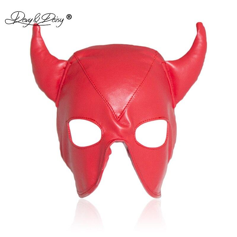 Goat Leather Leder Cuir Tight Mask Hood Mask 7