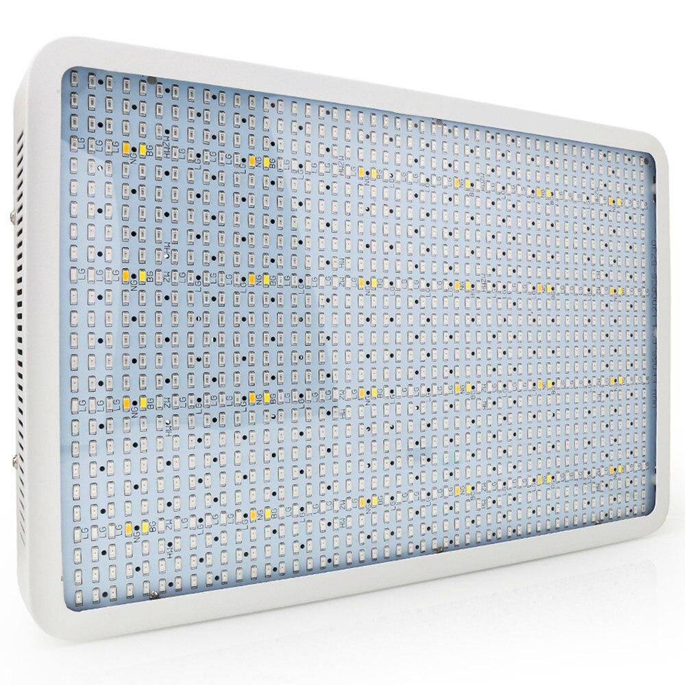 Full Spectrum 1600W LED Grow Light Red Blue White Warm UV IR AC85 265V SMD5730 Plant