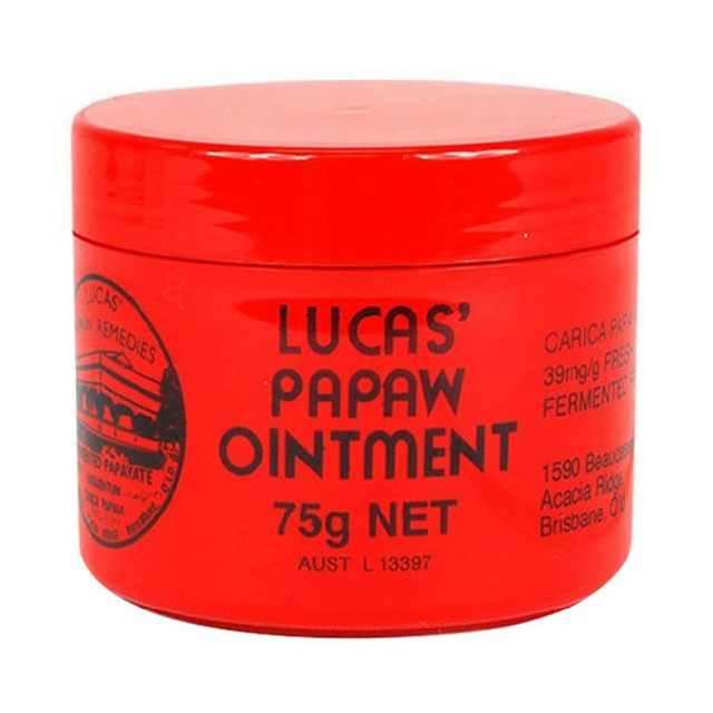 75g LUCAS PAPAW Ointment Skin Care, topical application for boils, burns, chafings, open wounds, insect bites and nappy rash