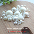 Free shipping 3mm 1000pcs/lot  ABS imitation flatback beige pearl half round cabochon for DIY decoration Nail Art pearl etc.