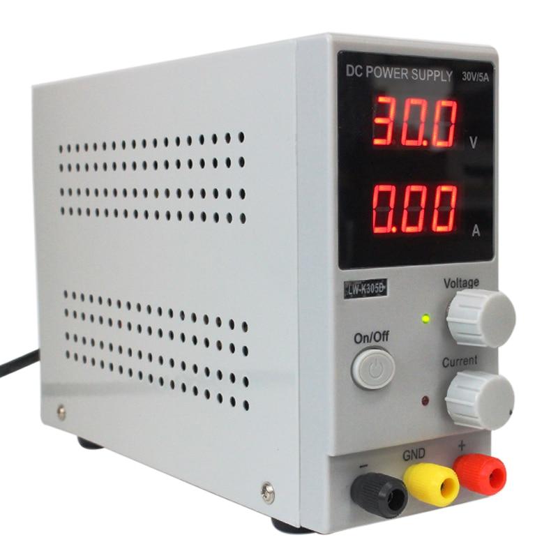 Hot Sale LW-K305D (110V/220V ) 0-30V 0-5A Adjustable Mini Switching DC Power Supply Voltage Regulators 220v atten digital display dc voltage regulators power supply aps3005s 3d two way 30v 5a adjustable linear dc power supply