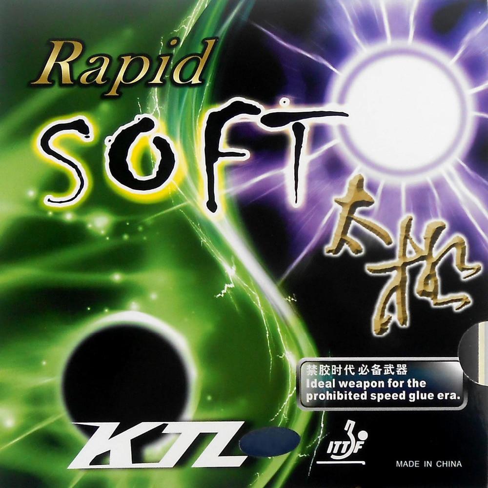 KTL Rapid SOFT pips-in tenis de mesa / pingpong de goma con - Raquetas de deportes