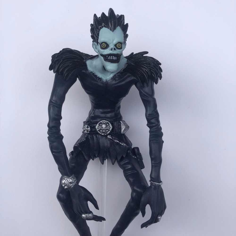Death Note Rem L Ryuuku Ryuk Dark Blue PVC Action Figure Lyuuku Collectible Model Toy 24m